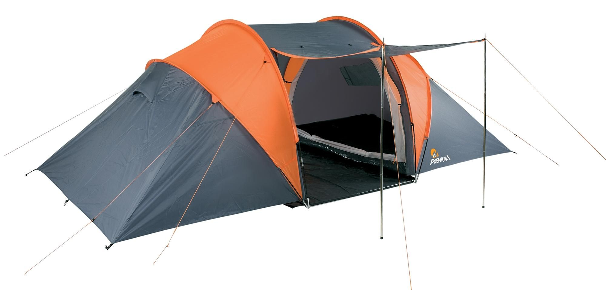 Aventura 4 Man Tunnel Tent is ideal for families or groups of friends going on a  sc 1 st  Pinterest & Aventura 4 Man Tunnel Tent is ideal for families or groups of ...