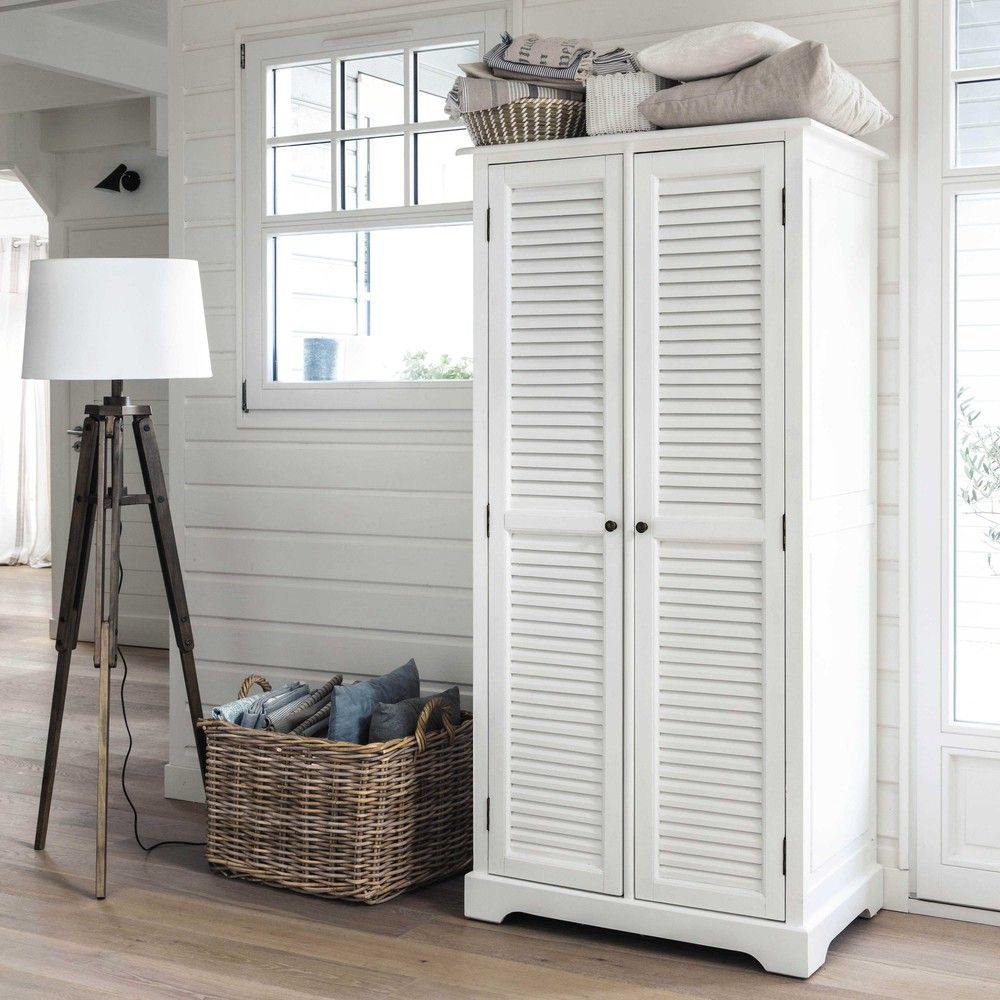 Armadio 2 Ante Ikea.Guardaroba A 2 Ante Bianco Wooden Closet Affordable Furniture