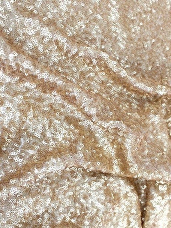 7fa97da0cff2d Brushed gold sequins...fabulous for a formal wedding!  GoldSequinWedding   GoldandGlitterWeddingInspirations