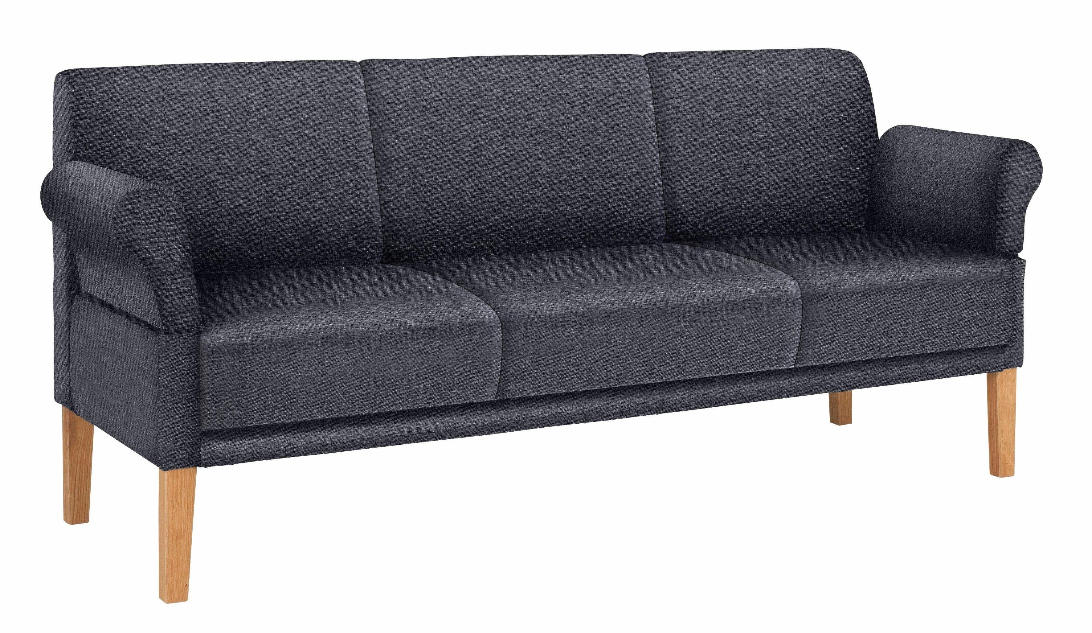 reposa Tischsofa grau 2 Sitzer Breite 160cm Cottage Jetzt