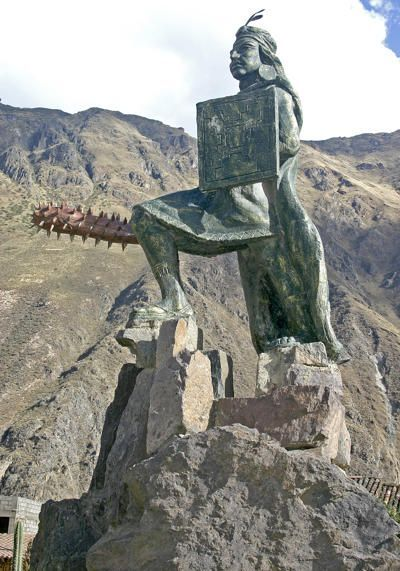 Image result for Tambomachay statues