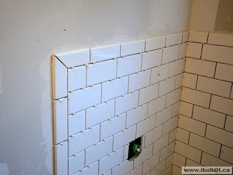 Bullnose Trim On Bathroom Tile