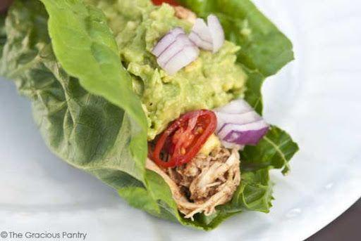 ทาโก้ หรือแวรปแบบไร้แป้ง ใช้ผักสดห่อพวกเครื่องแทน Clean Eating Low Carb Tacos Recipe on Yummly. @yummly #recipe