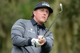 Phil Mickelson, a great person, and true professional.