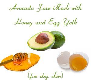 yolk face mask