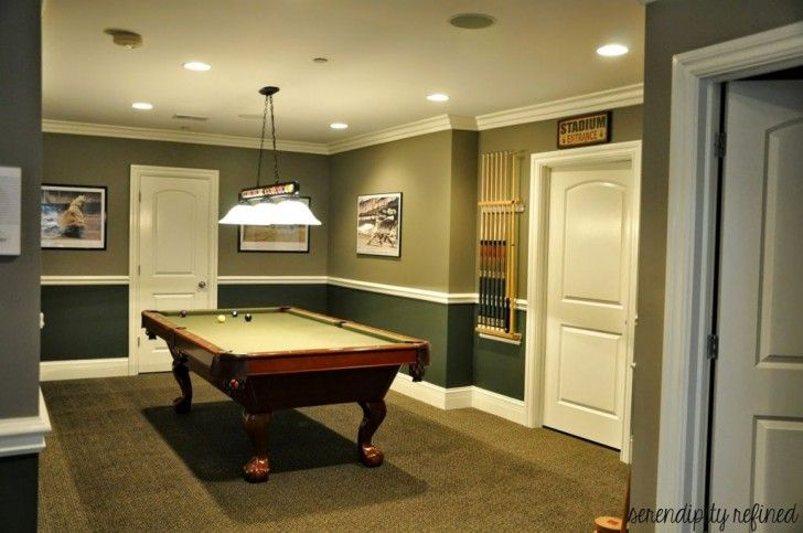 Furniture:Trendy Modern Pool Table Room Ideas To Complete Your Game ...