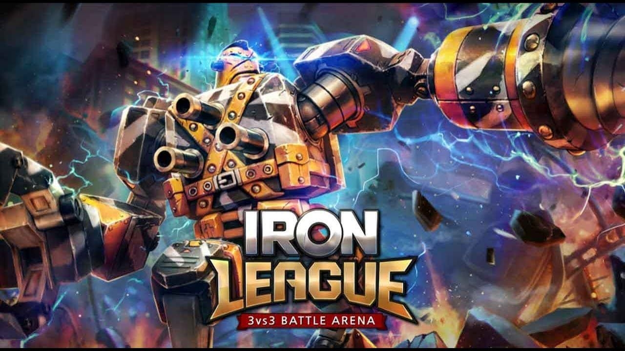 Iron League MOBA android game first look gameplay español