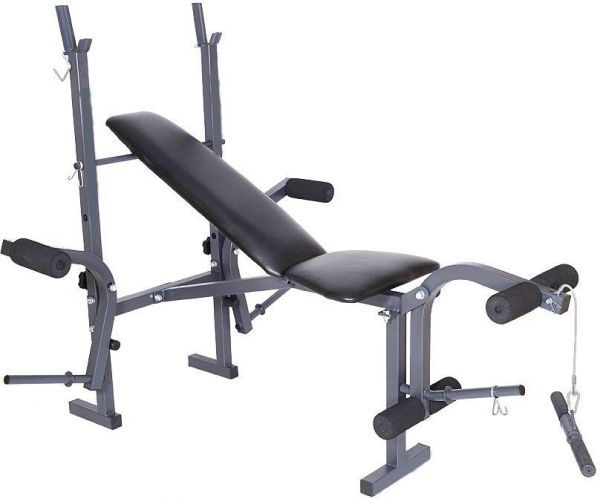 Multi function weight bench sg fitness gym and exercise
