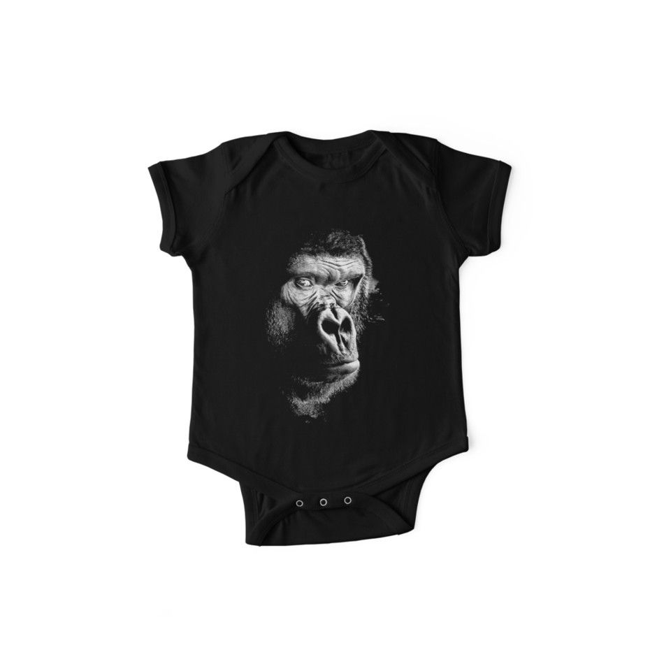Baby Clothes Strong Chimpanzee Cool Shirt Bodysuit