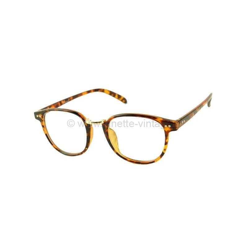 Fausse lunette de vue ronde femme - Monture optique et lunette f74a82d4d88e