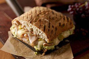 Avocado, Turkey & Cheese Torta recipe