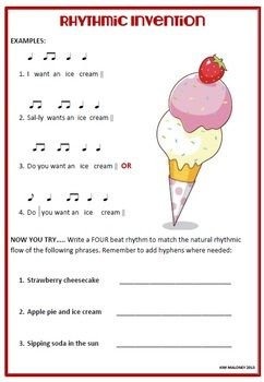 music free download rhythm invention worksheet an introduction to writing a rhythm to lyrics. Black Bedroom Furniture Sets. Home Design Ideas