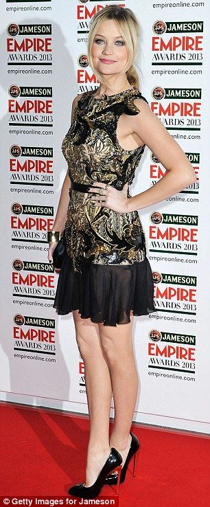 Laura Whitmore,  in attendance at a showbiz bash