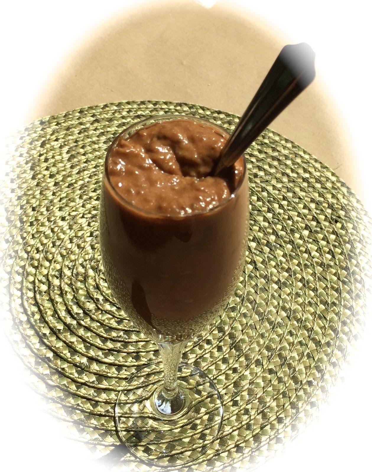 Pink-Vegan: Chocolate Pudding (DF, GF) - Sweet Potato Based