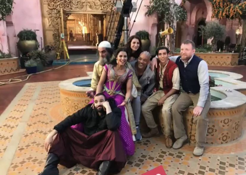Aladdin Behind the Scenes Full Cast of Aladdin 2019