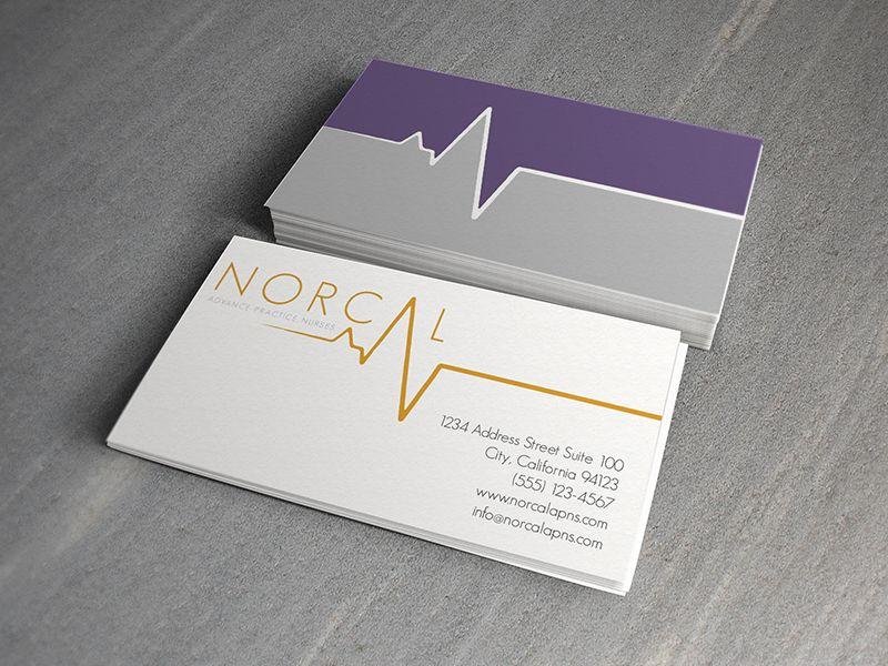 Business Card for Nursing Agency by Ashley Porciuncula #branding ...