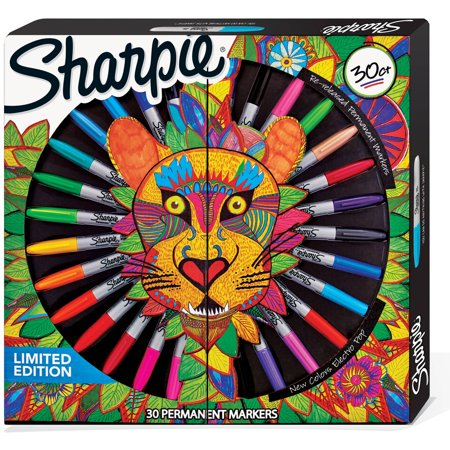 Sharpie Special Edition Adult Colouring Markers Box of 30 Assorted Colours