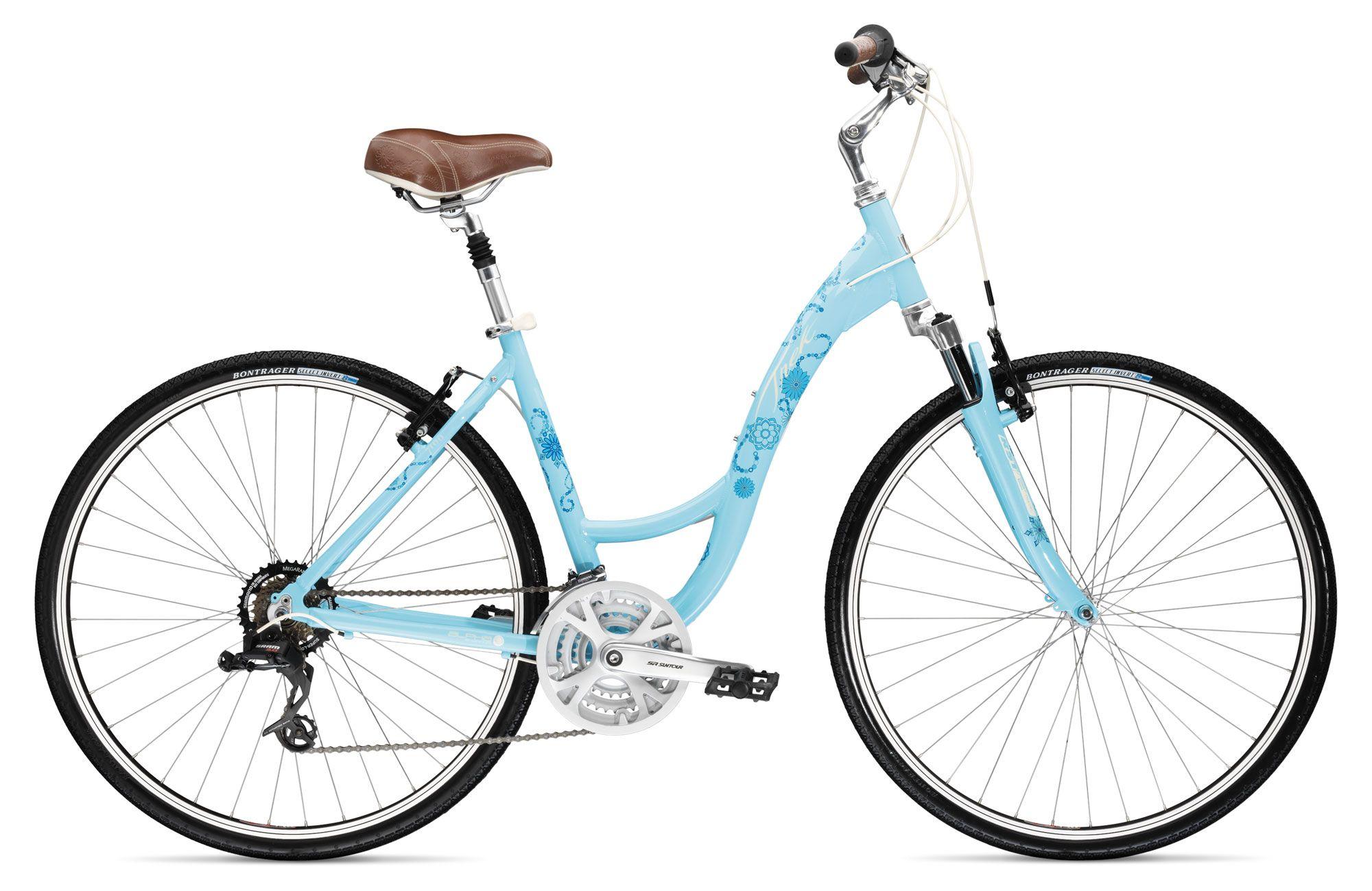 Trek 7100 Womens Hybrid Touring Bike 2009 Hybrid Bike Trek Bikes Womens Bike