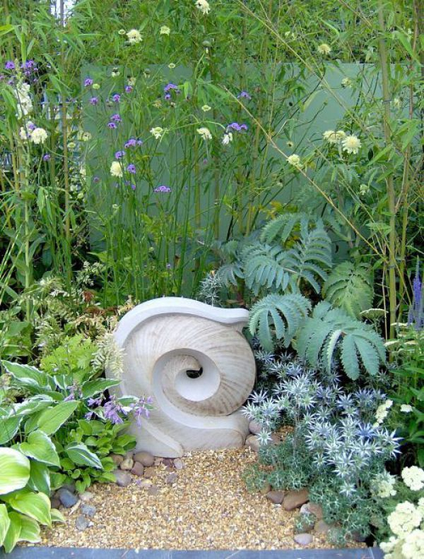 Ceramics{High Fired Stoneware} Garden Or Yard / Outside And Outdoor  Sculpture By Sculptor Dennis Kilgallon Titled: U0027Wave (ceramic High Fired  Stone Ware ...