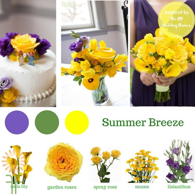 Wholesale Wedding Flower Packages: Summer Bouquet Flower Packages