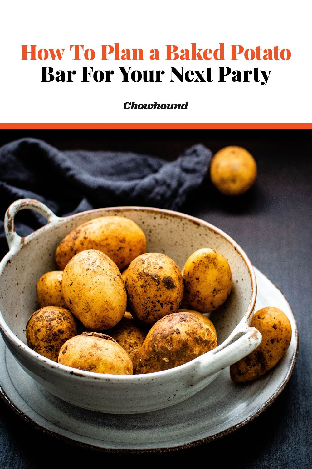 How To Plan a Baked Potato Bar For Your Next Party | Baked ...