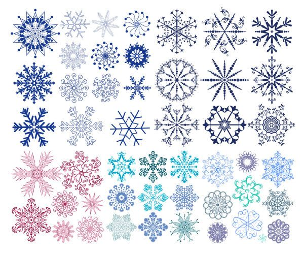 dibujos de copos de nieve para colorear - Buscar con Google ...