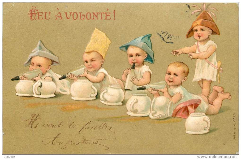 Postcards > Topics > Fancy cards > Babies - Delcampe.net