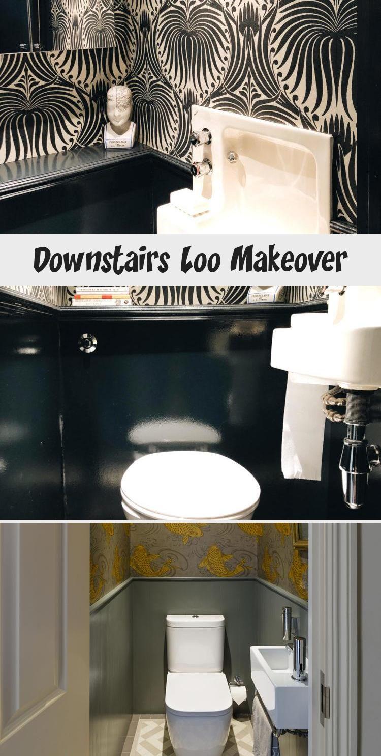 Downstairs Loo Makeover #downstairsloo