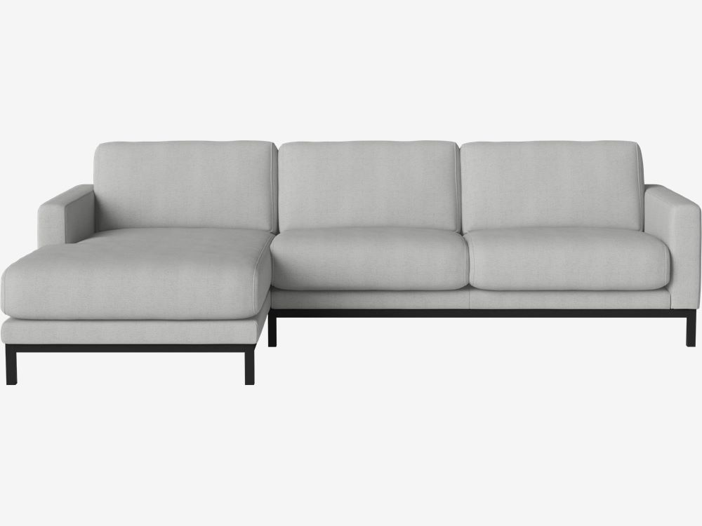North 3 pers. sofa med Sjeselong - venstre Glismand ...