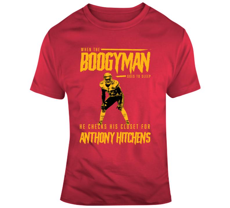 The Boogeyman Checks For Anthony Hitchens Kansas City Chiefs Football T Shirt