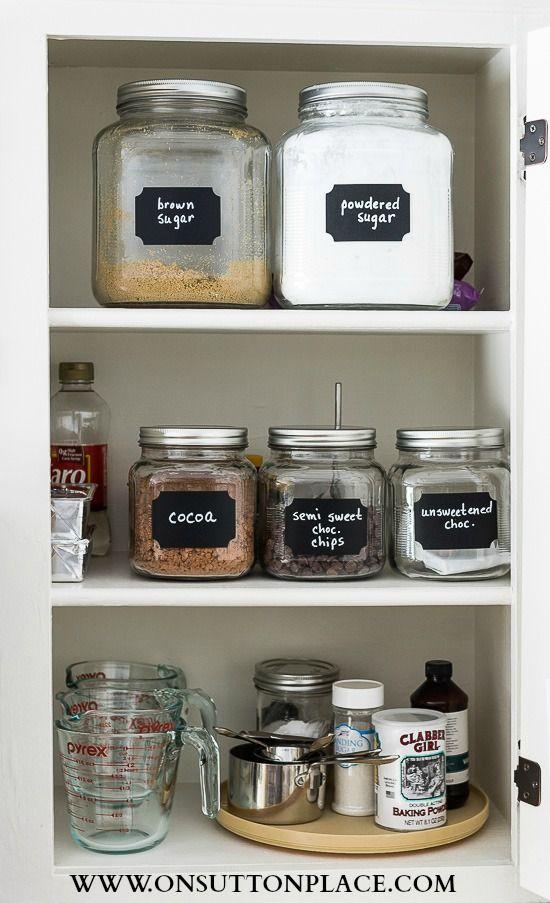 baking cabinet organization spice storage ideas kitchen organization pantry kitchen on organizing kitchen cabinets zones id=15783