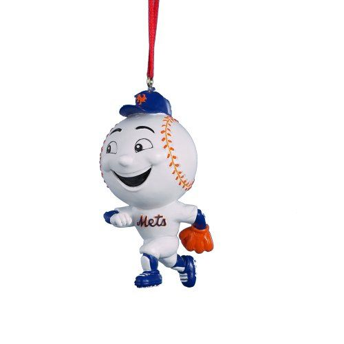 Kurt Adler 334Inch Mr Met Mascot Ornament New York Mets http