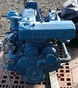Details about Perkins Diesel 4-108 Sailboat 4-Cylinder with ZF