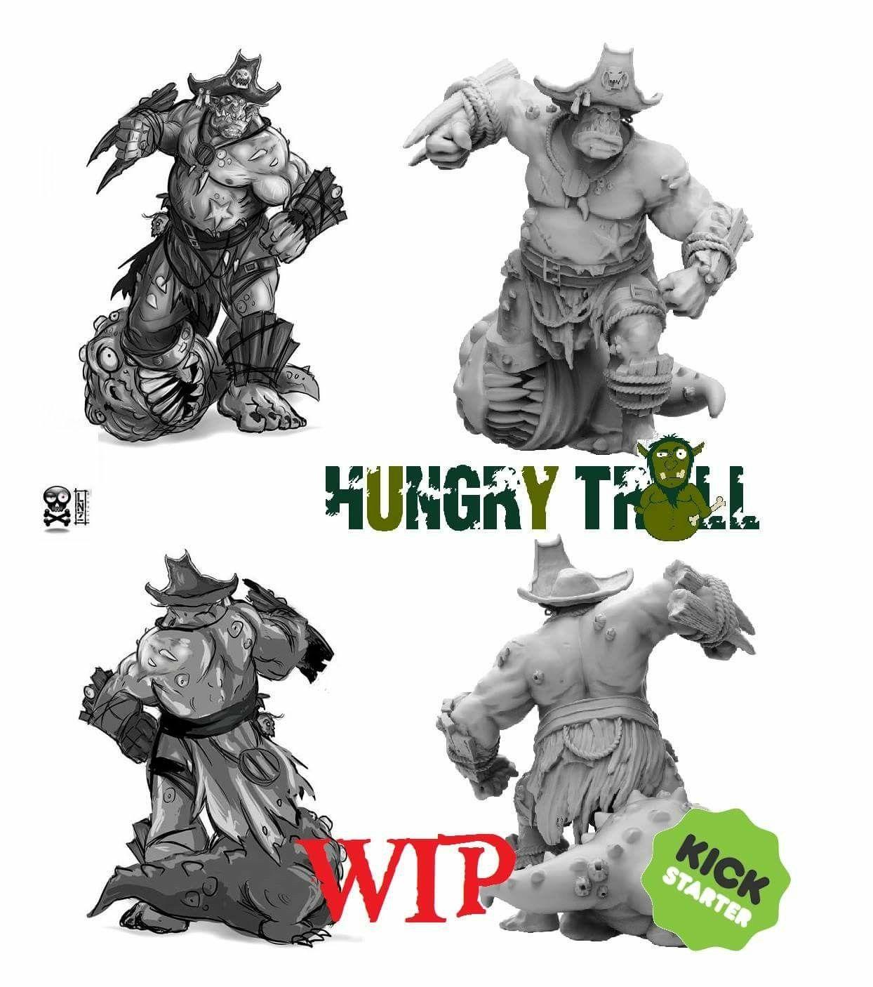 Hungry Troll