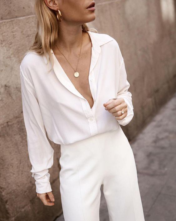5 Head-To-Toe White Outfits