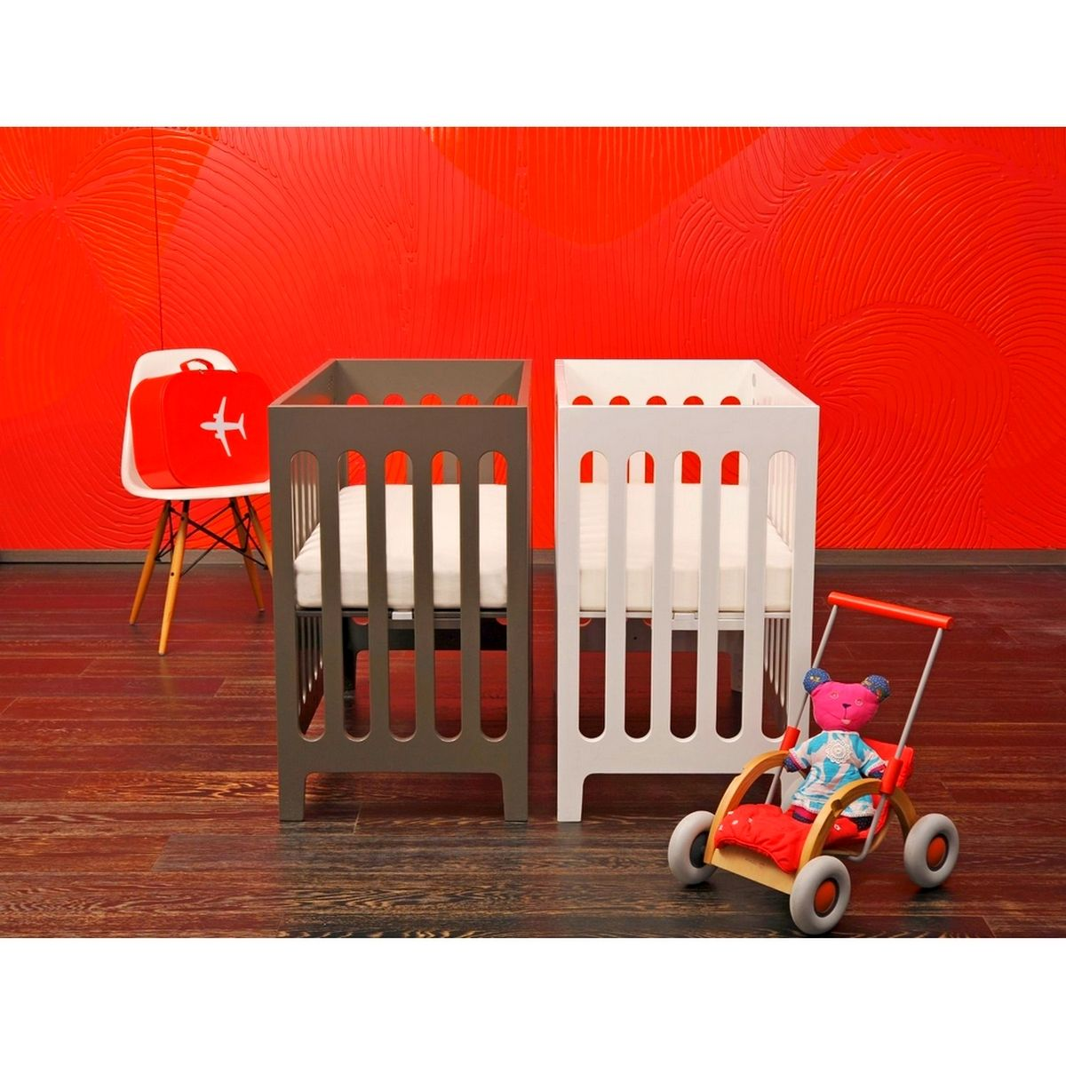 Double Small Cribs | House Ideas | Pinterest | Small crib, Crib and ...