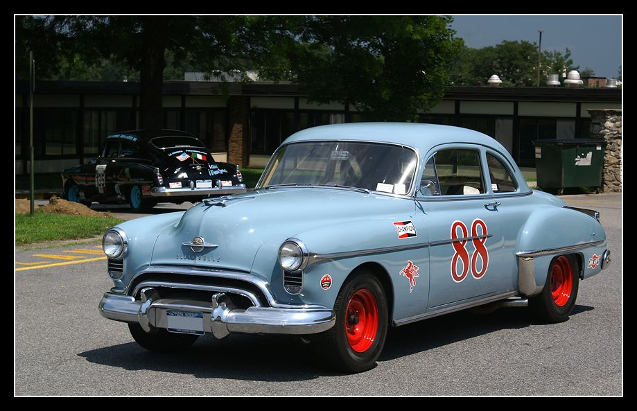 Vintage \'53 Olds #88 Stock Race Car. Do you remember these cars ...