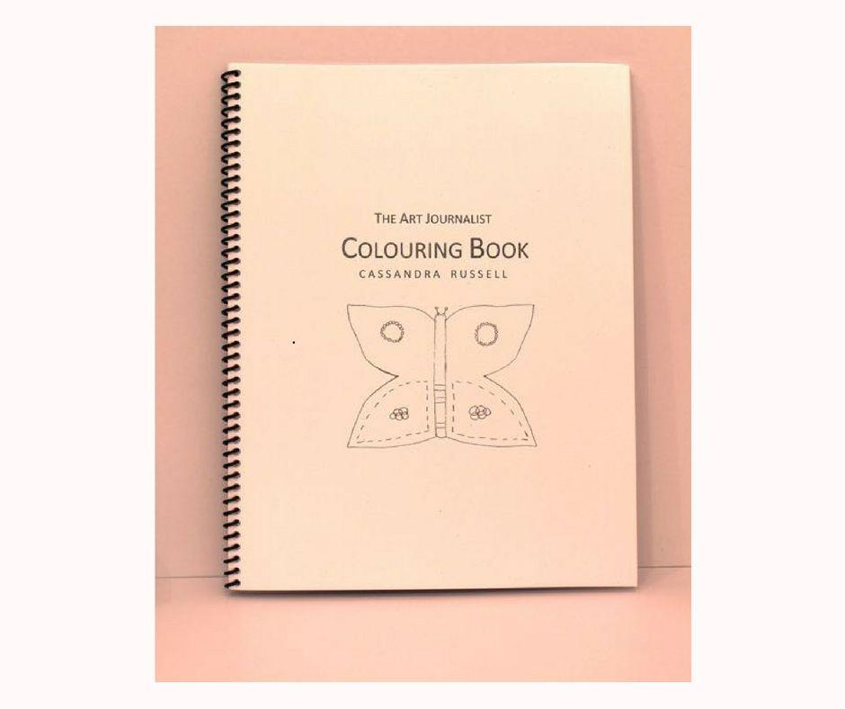The Art Journalist Colouring Book Theartjournalist Coloring Books Coloring Book Art Art Therapy Activities