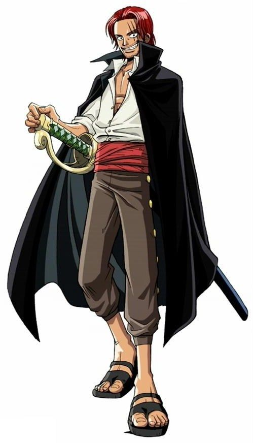 Red Hair Shanks Dessin One Piece Anime One Piece Luffy