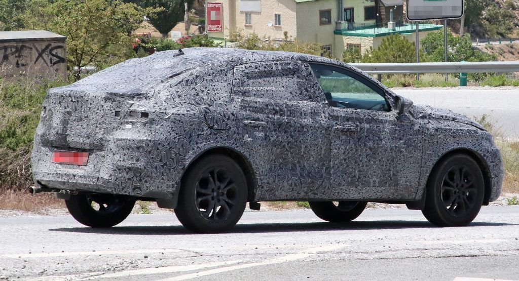 Renault Captur Coupe Spied Your Budget Bmw X6 For The Masses Is