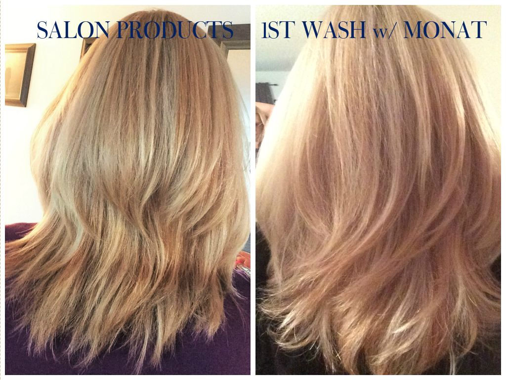 Monat Before And After Rejuveniqe Oil Non Toxic Hair Care Hair