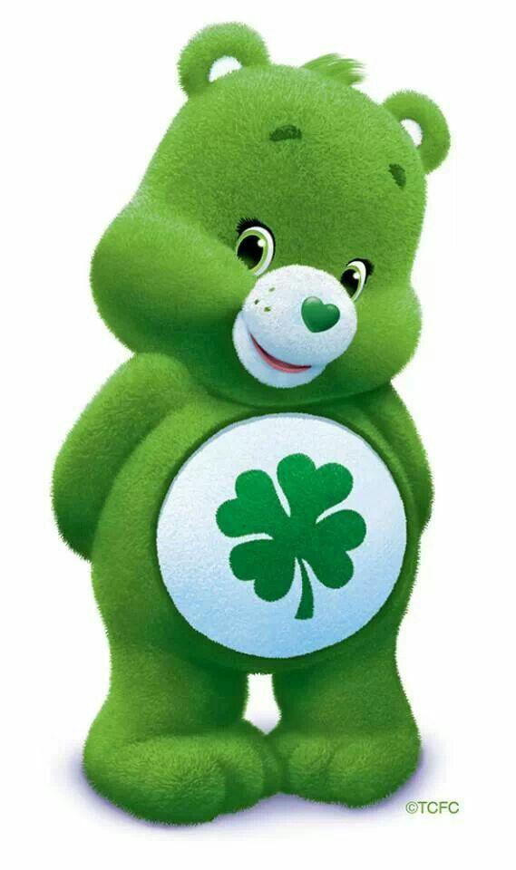 Good Luck Bear Sit stuffed *Care Bears