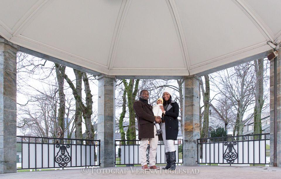 Familiebilder i Stavanger Sentrum