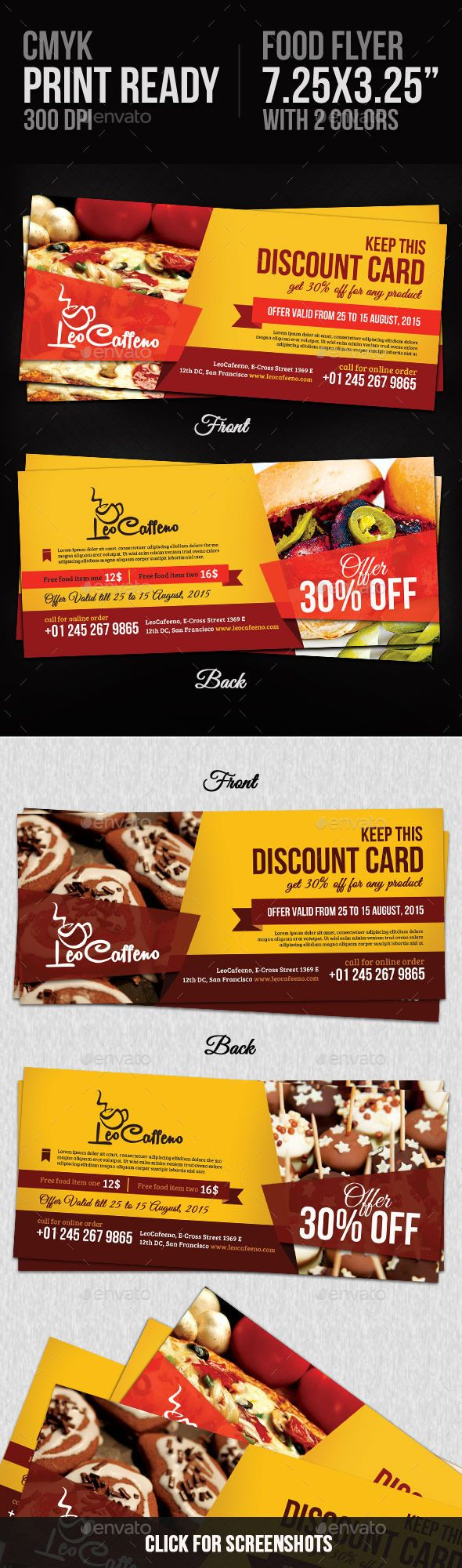 Food Coupons  Change Colour Coupons And Template
