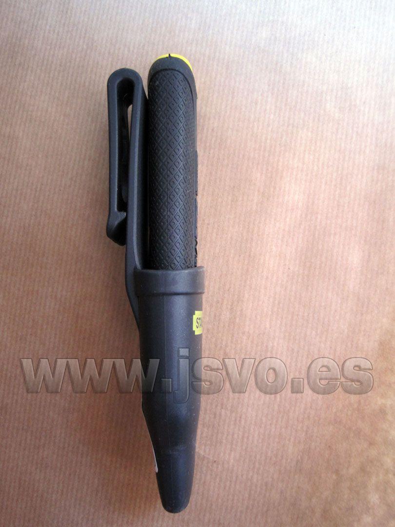 Cuchillo para electricista Stanley FatMax ® ref.: 0-10-234 + Funda con pinza para el cinturón  www,jsvo.es