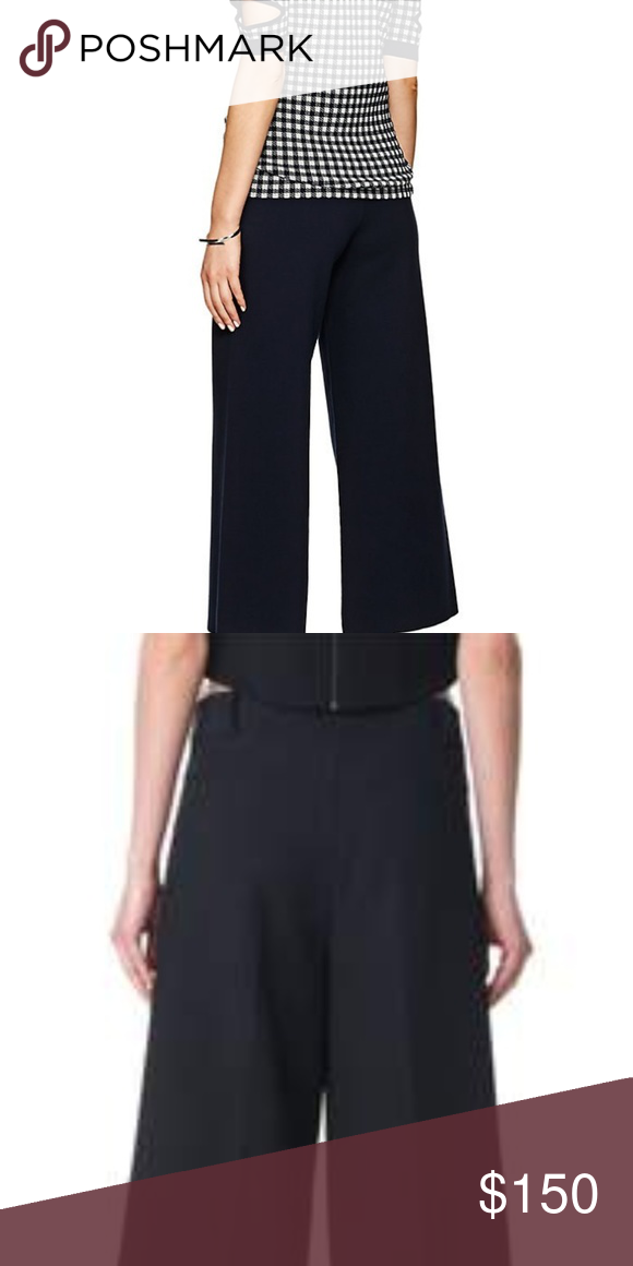 2b30d29e77 Public School Crop Wide Leg Pants Details the crop wide-leg pants are  constructed of