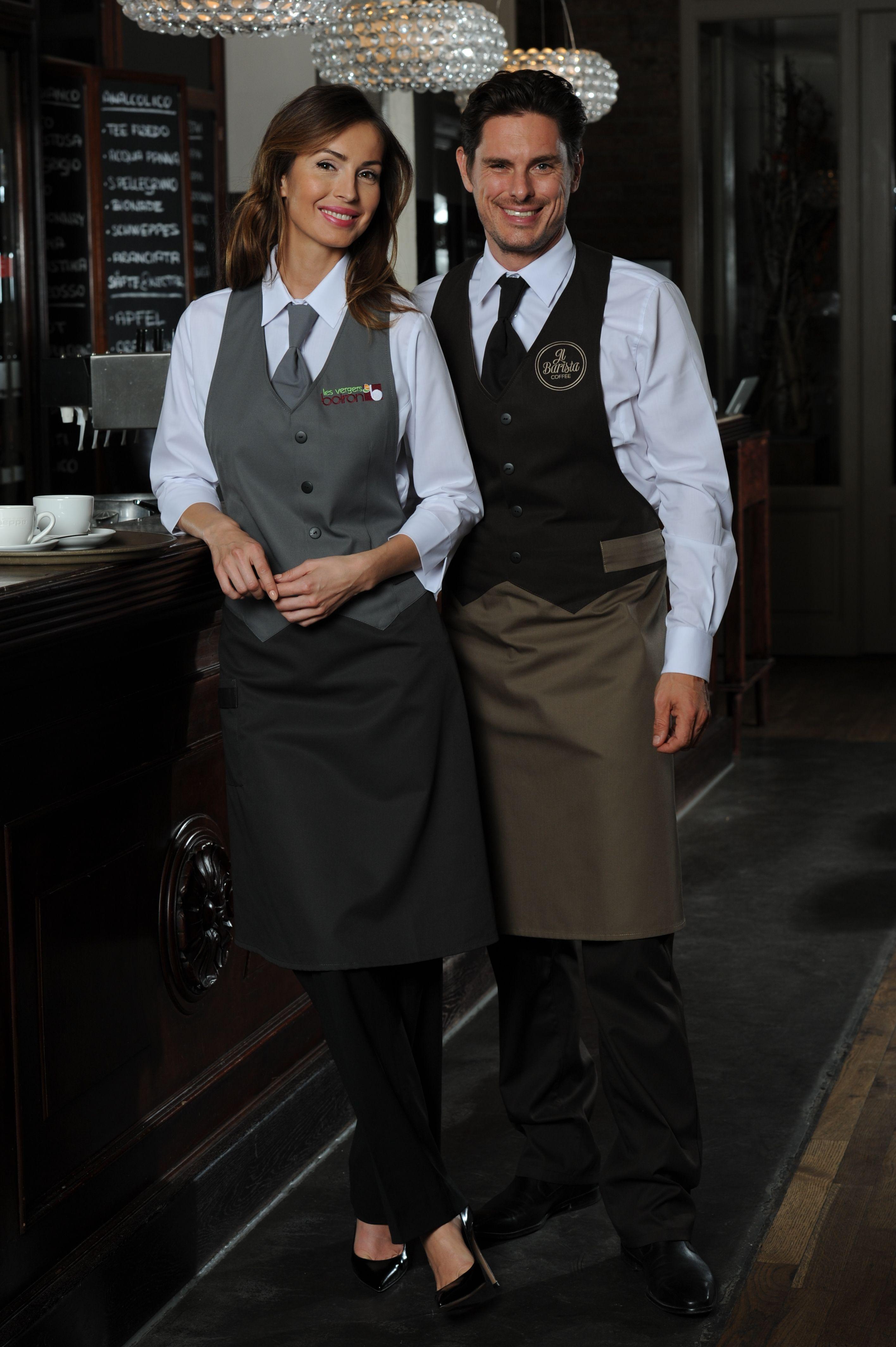 Berufsbekleidung Küche Damen | Damen Westen Schurze Berkeley Premium Fur Gastronomie Service