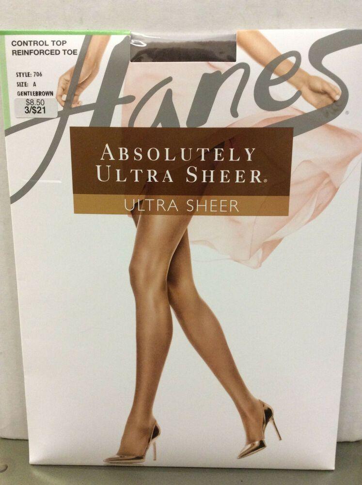 HUE  So Silky Sheer GLOSS Control Top Pantyhose #133863