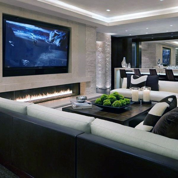 Modern Home Theatre Ideas: Pin By Bush On Media Rooms & Man Cave Ideas