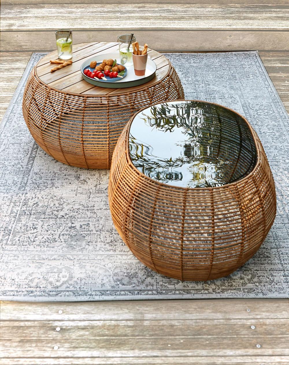 Nouveautes La Redoute Interieurs Meuble Table Et Salon De Jardin En 2020 Salon De Jardin Table D Appoint Salon Table Basse Jardin